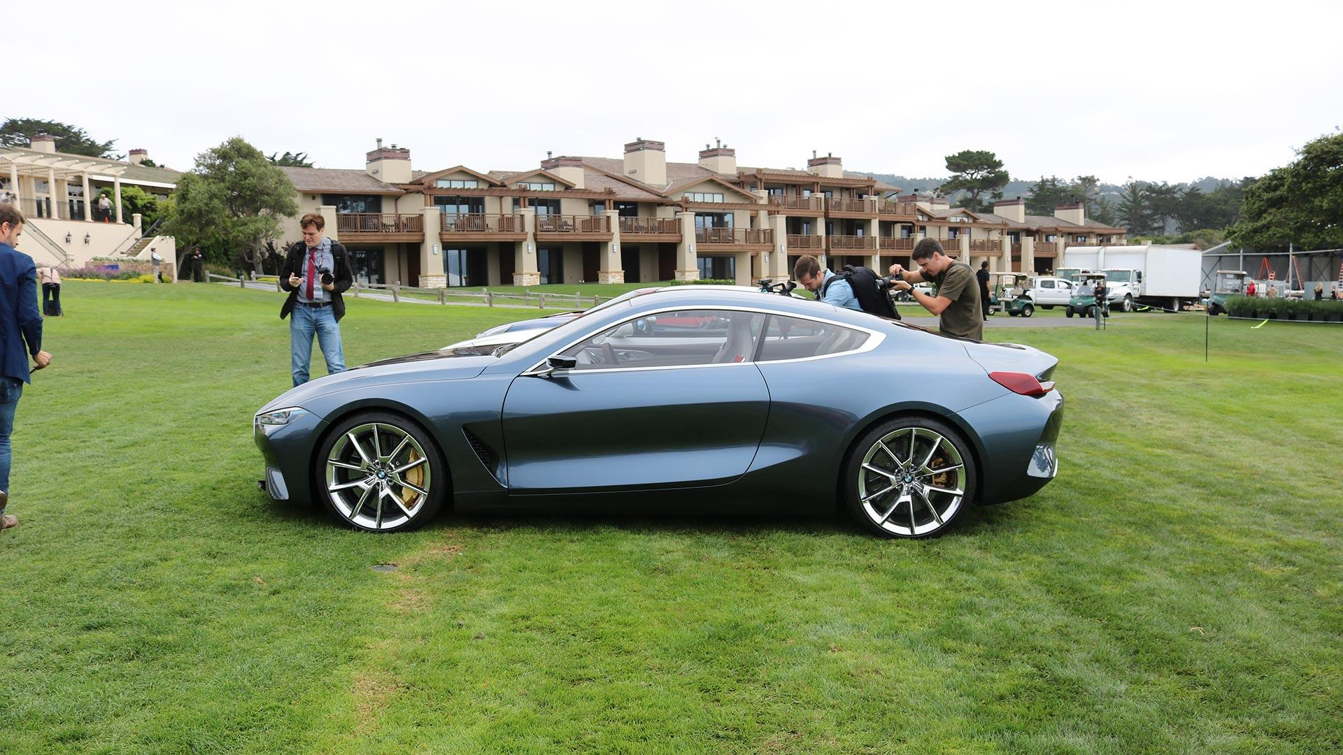 bmw 8 series concept pebble beach 3 carviser. Black Bedroom Furniture Sets. Home Design Ideas
